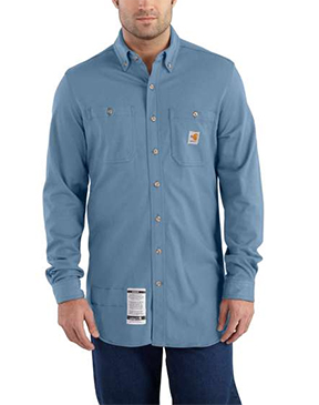 MEN'S FLAME-RESISTANT FORCE™ COTTON HYBRID SHIRT