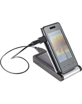 Solar Charger & Desktop Phone Holder