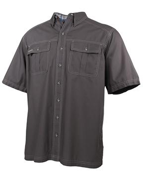 Gunmetal Cotton Shirt