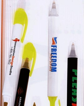 2 Sider Ballpoint Pen Hightlighter