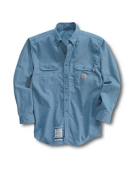 Flame-Resistant Chambray Shirt