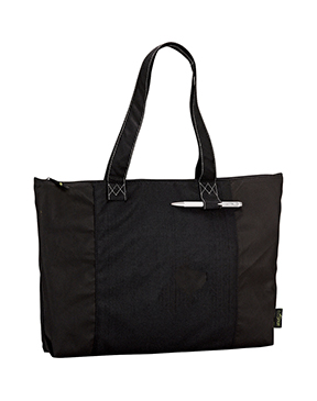 100% Recycled PET Zippered Tote