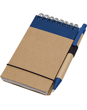 "5"" x 4"" Recycled Jotter with Pen"