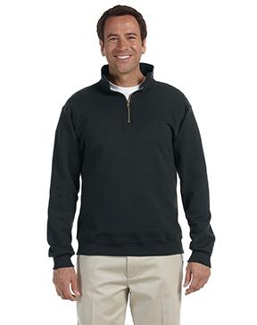 Jerzees Adult 9.5 oz. Super Sweats® NuBlend® Fleece Quarter-Zip Pullover
