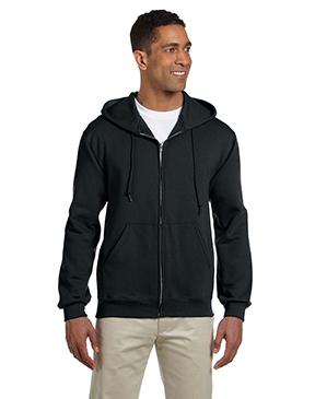 Jerzees Adult 9.5 oz., Super Sweats® NuBlend® Fleece Full-Zip Hood