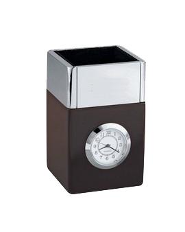 Futura Pencil Cube Clock