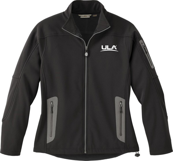 LADIES' SOFT SHELL TECHNICAL JACKET