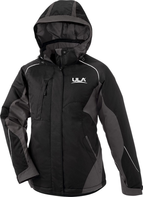 LADIES' COLOR-BLOCK INSULATED JACKET