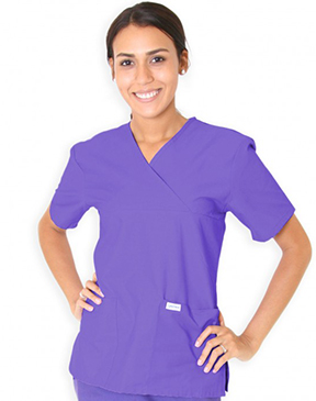 MOCK-WRAP TUNIC