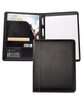 Accent™ Leather Desk Folder