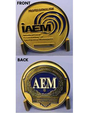 IAEM AEM Medallion