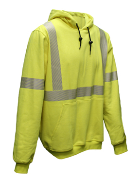 Class 3 Fire Resistant Hooded Sweatshirt