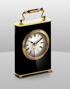CALEA Piano Finish Wood Award Clock