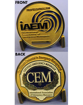 IAEM CEM® Medallion