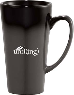 Café Tall Latte Ceramic Mug 14 oz