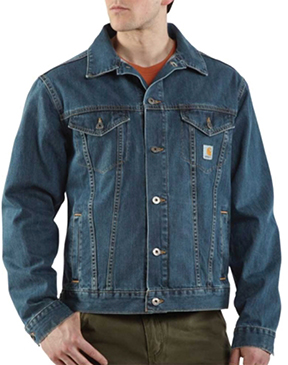 Carhartt Men's Denim Jean Jacket - unfi(ing)