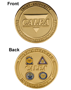 CALEA Challenge Medallion