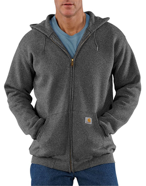 Carhartt Midweight Full-Zip Hooded Sweatshirt