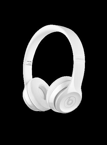 Beats Solo 3 Wireless On-Ear Headphones - Gloss White
