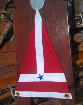 MIT Sailing Burgee