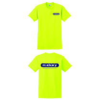Short Sleeve T-Shirts Safety Green