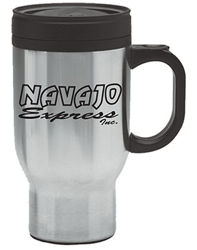 Navajo 16 Oz. Stainless Steel Mug with Plastic Liner