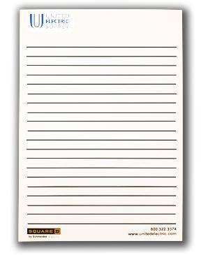 "5""x7"" BIC® 50 Sheet Non-Adhesive Scratch Pad"