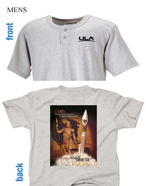 Men's Past Mission Henley, Click image for all shirts