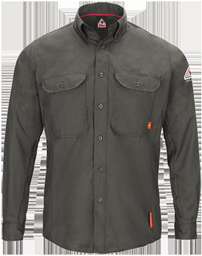 iQ Series® Long Sleeve Comfort Woven Lightweight Shirt