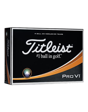 Titleist Pro V1 Golf Balls (Available January '18)
