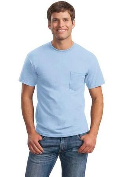 Gildan - Ultra Cotton ®  100% Cotton T-Shirt with Pocket
