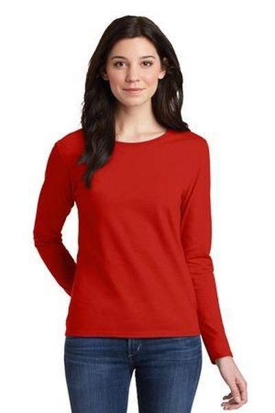 Gildan ®  Ladies Heavy Cotton ™  100% Cotton Long Sleeve T-Shirt