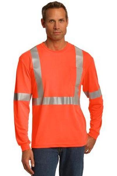 CornerStone ®  ANSI 107 Class 2 Long Sleeve Safety T-Shirt