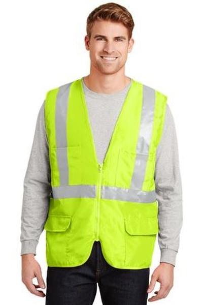 CornerStone ®  - ANSI Class 2 Mesh Back Safety Vest