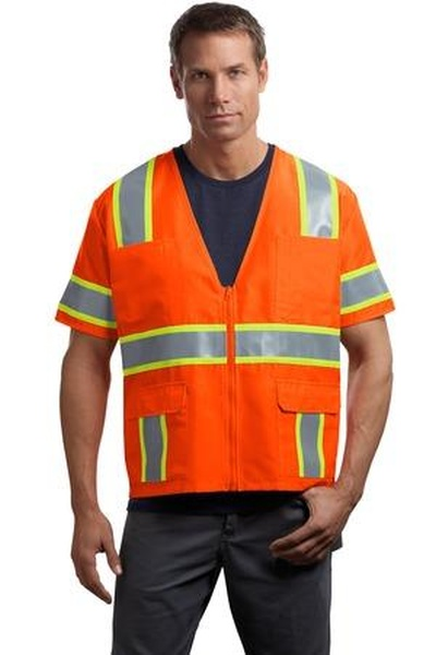 CornerStone ®  - ANSI Class 3 Dual-Color Safety Vest. CSV406