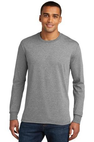 District Made ®  Mens Perfect Tri ®  Long Sleeve Crew Tee