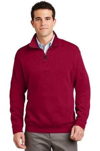 Port Authority ®  - Flatback Rib 1/4-Zip Pullover