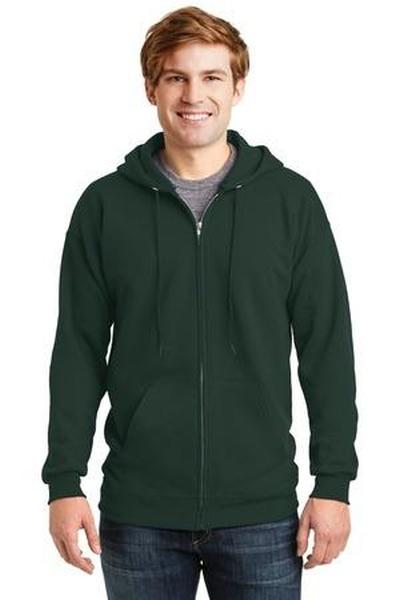 Hanes ®  Ultimate Cotton ®  - Full-Zip Hooded Sweatshirt