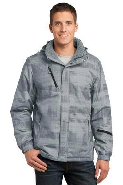 Port Authority ®  Brushstroke Print Insulated Jacket