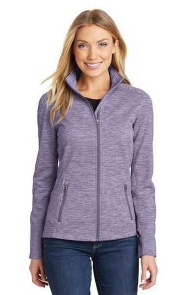 Port Authority ®  Ladies Digi Stripe Fleece Jacket
