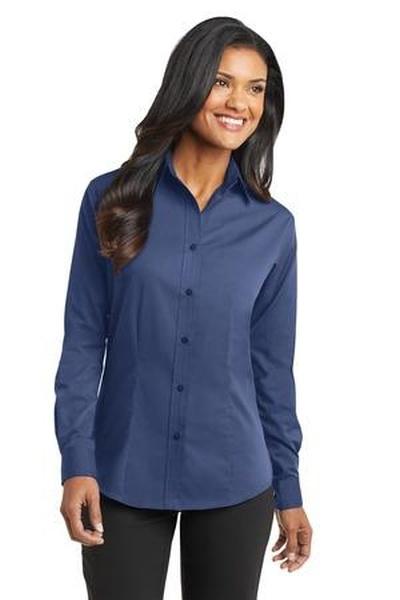 Port Authority ®  - Ladies Tonal Pattern Easy Care Shirt