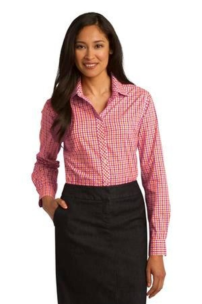 Port Authority ®  Ladies Long Sleeve Gingham Easy Care Shirt