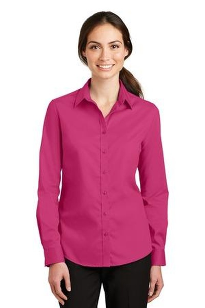 Port Authority ®  Ladies SuperPro ™  Twill Shirt