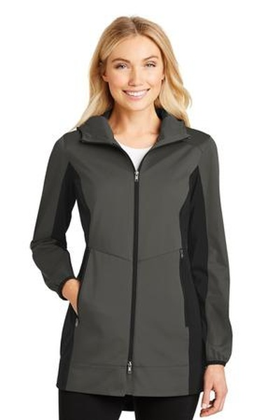 Port Authority ®  Ladies Active Hooded Soft Shell Jacket