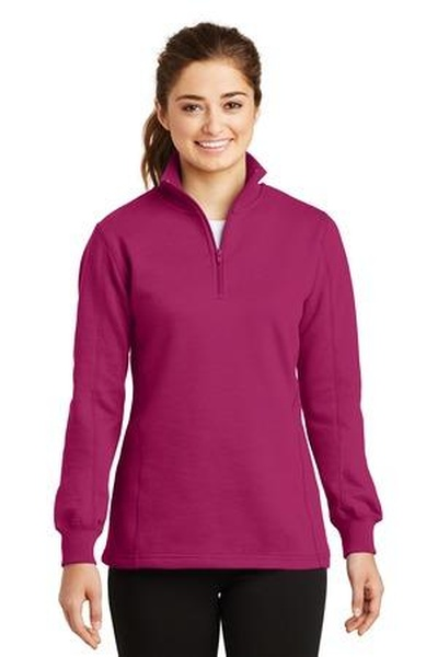 Sport-Tek ®  - Ladies 1/4-Zip Sweatshirt