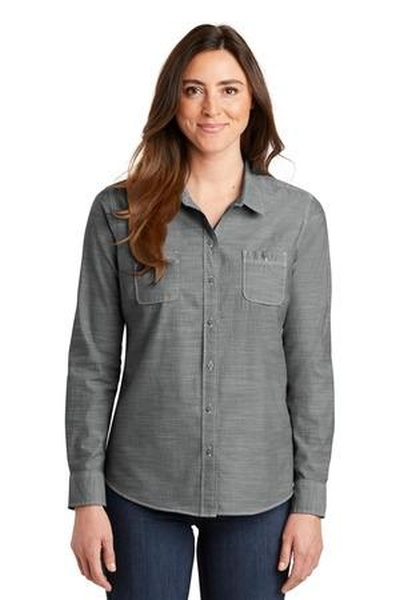 Port Authority ®  Ladies Slub Chambray Shirt