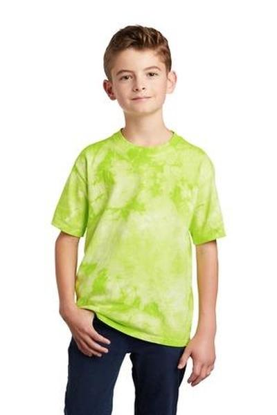 Port & Company  ®  Youth Crystal Tie-Dye Tee