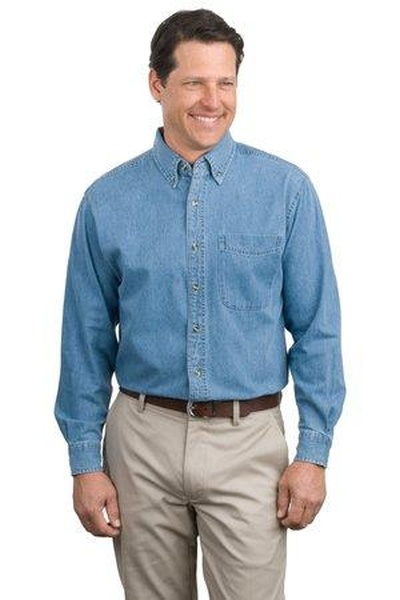 Port Authority ®  - Long Sleeve Denim Shirt
