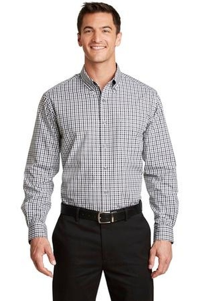Port Authority ®  Long Sleeve Gingham Easy Care Shirt