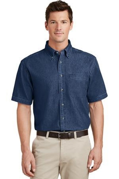 Port & Company ®  - Short Sleeve Value Denim Shirt
